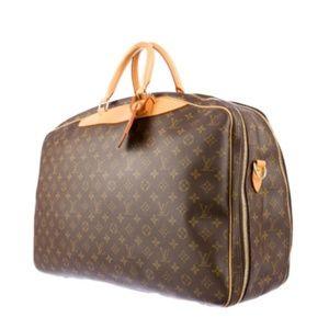 Louis Vuitton • Alize Luggage • Double Zipper/Huge